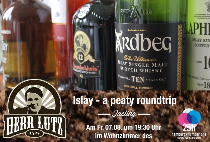 Islay - a peaty roundtrip Tasting by Herr Lutz