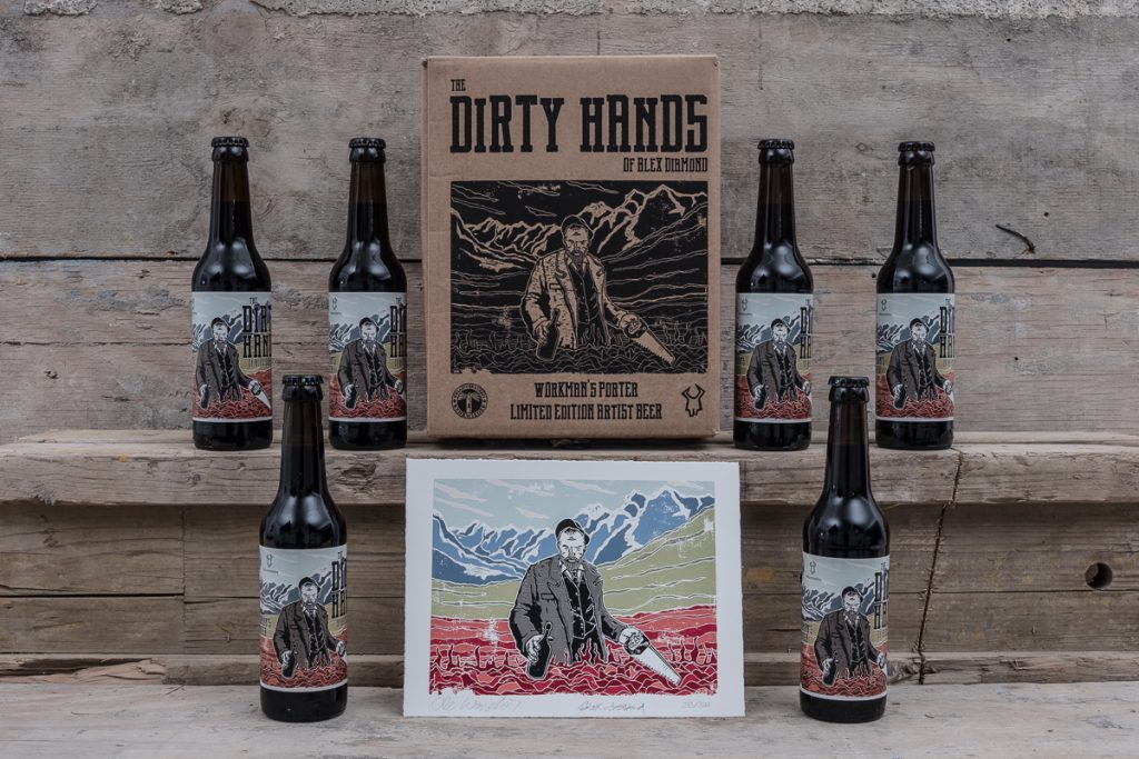 The Dirty Hands by Alex Diamond // Herr Lutz