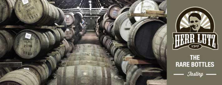 """Whisky Tasting """"The Rare Bottles"""" // Herr Lutz"""