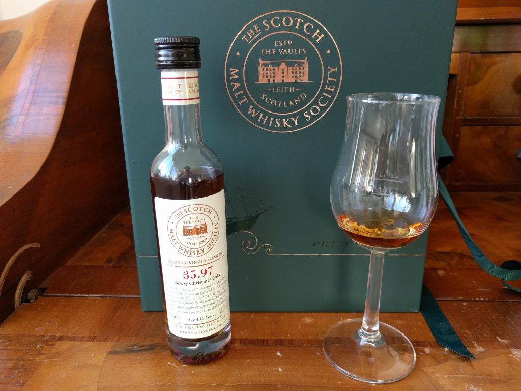 The Scotch Malt Whisky Society // Herr Lutz
