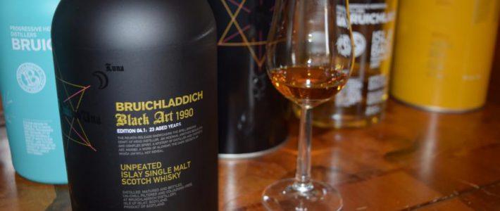 "Whisky Tasting Notes: Bruichladdich ""Black Art 1990 – Edition 4.1"""