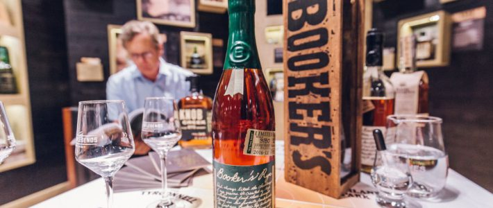 Exklusives Whiskey Tasting feat. Booker's Rye