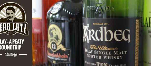 "Whisky Tasting ""Islay - a peaty roundtrip"" // Herr Lutz"
