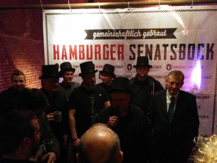 Hamburger Senatsbock 2016 // Herr Lutz