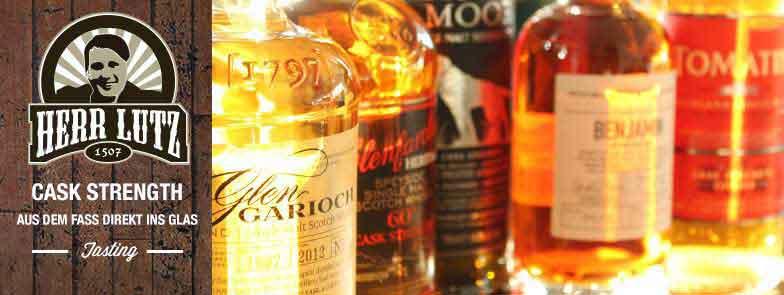 """Whisky Tasting """"Cask Stength"""" // Herr Lutz"""