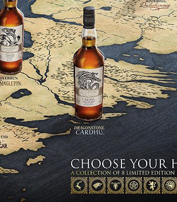 Whisky Tasting Game of Thrones