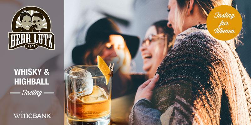 Whisky und Highball Tasting für Frauen Hamburg