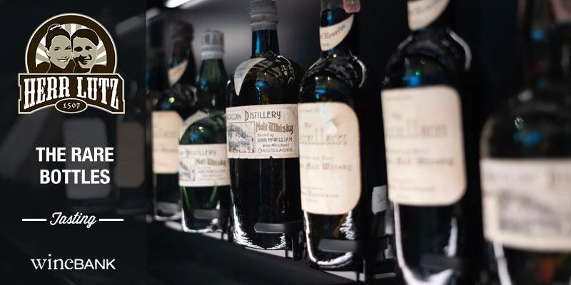 Whisky Tasting Hamburg rare Bottles Herr Lutz